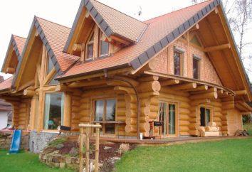 A casa é feita de logs: comentários dos proprietários, os prós e contras