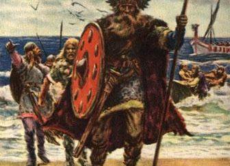 Viking nomes nórdicos na história da Idade Média