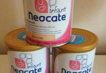 Les préparations pour nourrissons « Neocate »: composition, l'application et la rétroaction des médecins
