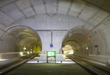 tunnel gotthard: descrizione. il giorno del tunnel del Gottardo in Svizzera apertura