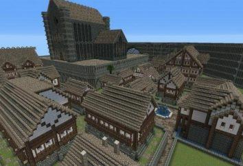 """Château """"Minecraft"""" – le plan, la construction, nous bénéficions"""