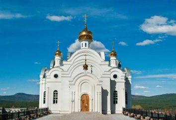 Miasto Chryzostom. Świątynia Serafima Sarovskogo