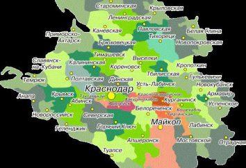 regione di Krasnodar, villaggio: l'elenco in ordine alfabetico