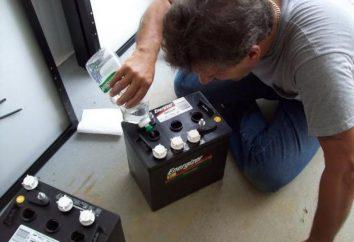 Cosa aggiungere alla batteria – acqua o elettrolita? Manutenzione della batteria dell'automobile. Livello elettrolitico nella batteria