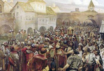 Týsiatski – un cargo de elección en Novgorod. ¿Cómo elegir tysyatskih y que parte de sus funciones