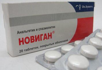 """Descrizione e le proprietà del farmaco """"Novigan"""". Da quello che pillole aiutano?"""