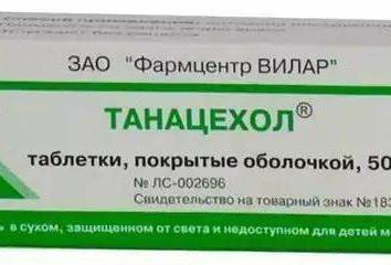 """A droga """"Tanatsehol"""": instruções de uso"""