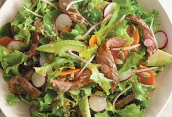 insalata di carne di manzo. Delicious insalata di carne: ricetta