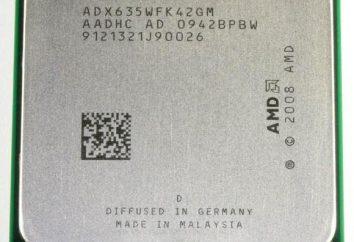 Procesor AMD Athlon II X4 635 Socket AM3: przegląd, opinie