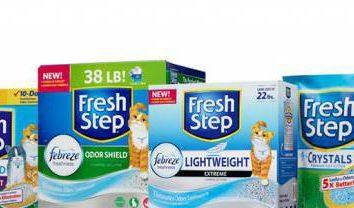 Fresh Step – relleno para la bandeja de gato: Descripción del producto