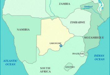 Botswana Capitale: Gaborone. description