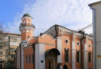 Moskwa Meczet historyczna: podstawa, działania religijne