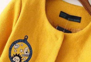 De lo que debe llevar el abrigo amarillo sin cuello?