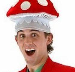 Na véspera do Ano Novo: Master terno cogumelo