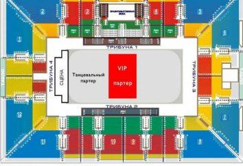 Palais des sports « Loujniki »: le schéma de la salle avec des sièges, des vues sur les activités en cours et la commodité de placer les spectateurs