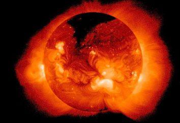 Wollen Sie wissen, was in der Sonne?