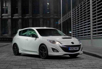 Mazda 3 MPS: Spezifikationen, Tuning und Bewertungen der Autobesitzer