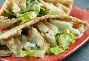 Peixes no pão pita, cozido no forno: receitas culinárias