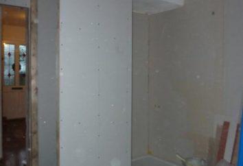 Przegrody zrobić dla łazienki płyt gipsowo-kartonowych