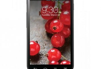 Smartphone LG Optimus L7 P715 Dual II: características y comentarios