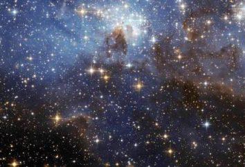 Che si compone di stelle nel cielo? Tipi di stelle e le loro caratteristiche