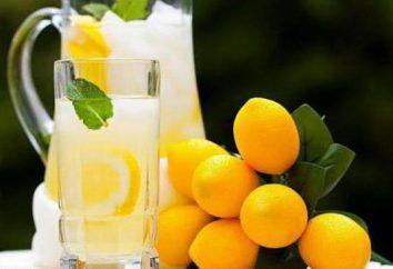 Como suco de limão de ácido cítrico: proporções