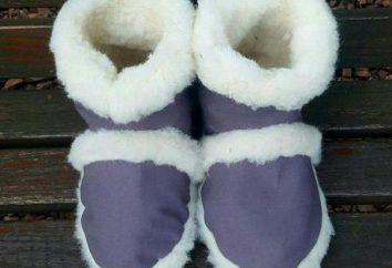 Chunya kożuch: opinie. Home ciepłe buty