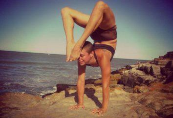 Pose de yoga dans scorpion (photo). Comment ne posent un scorpion?