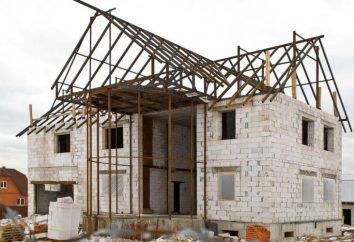 Co lepsze fundament domu betonu komórkowego: żelbetowe, taśmy lub pręta