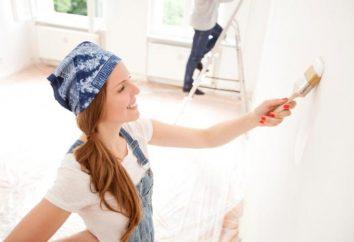 Jak mogę pomalować ściany farbą lateksową?