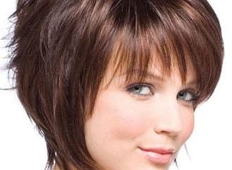 """Haircut """"cascata"""" para o cabelo curto"""