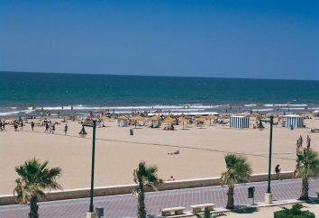 Najlepsze plaże w Walencji: opis, opis
