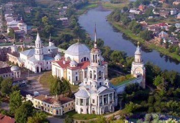 Torzhok: Attraktionen der russischen Architektur
