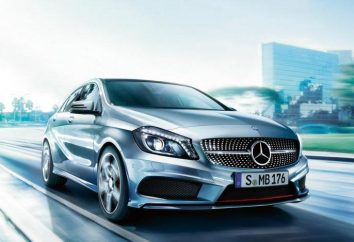 """""""Mercedes A180"""": specyfikacje techniczne i zużycie paliwa"""