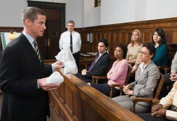 Postępowanie sądowe w sądzie: Cechy i zaleceń