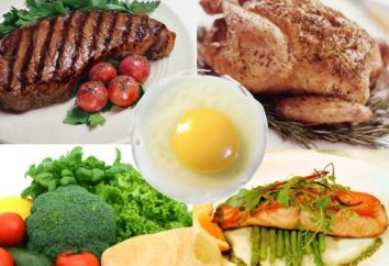 dieta rica en proteínas durante 7 días. Dieta durante 7 días para la pérdida de peso
