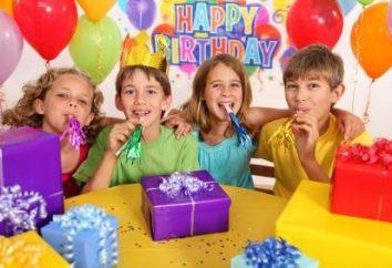 Preparazione per la festa: che i concorsi possono essere effettuate sul compleanno del bambino
