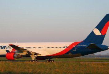 """La compagnie aérienne """"Air Azur"""": avis. vols charters internationaux"""