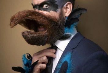 La maggior parte dei partecipanti al contest ultimo grande baffi e la barba