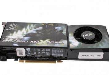 Nvidia GeForce GTX 260: charakterystyka, opinie