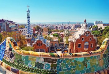 Espagne, Barcelone: Parc Guell