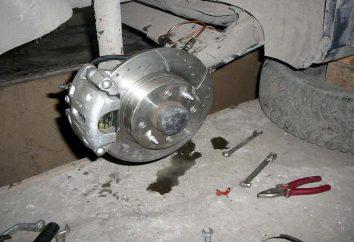 Tarcze hamulca tylnego na VAZ-2114: samozapłon