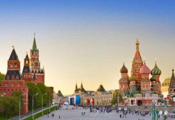 El territorio del estado de Rusia. Superficie, población, regiones