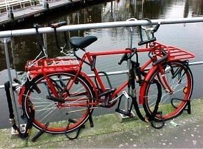 Bloccare sulla moto, o Come proteggere la bicicletta contro il furto
