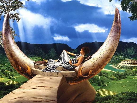 Stier und Romantik