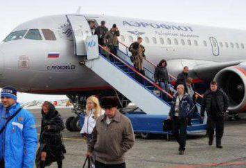Las líneas aéreas rusas más confiables: revisión, calificación, título y comentarios