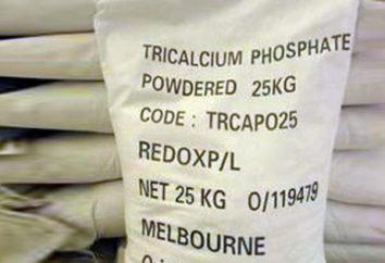 Tricalcico alimentazione fosfato: istruzioni per l'uso per i polli, conigli, cani