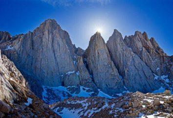 hauteur moyenne et des exemples Montagnes. classement de la montagne