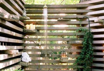 Jak zbudować prysznic na dachu własnymi rękami: proste metody