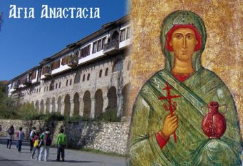 Święty Anastasiya Uzoreshitelnitsa. Modlitwa św Anastasia